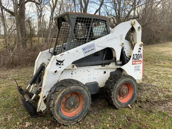 2007 BOBCAT A300 SKID STEER