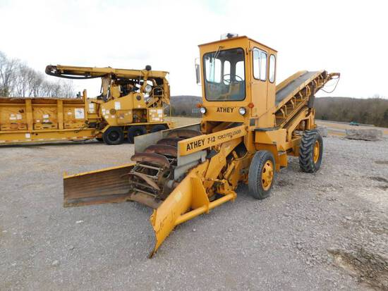 1988 ATHEY 7-12D FORCE FEED LOADER