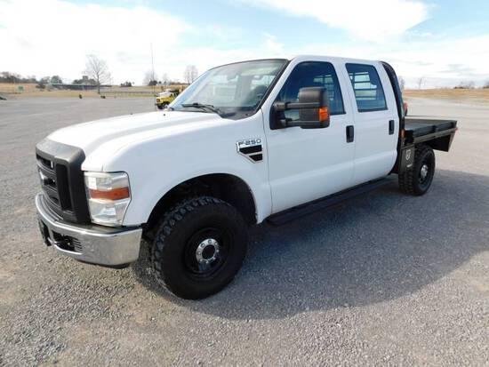 2010 FORD F250XL SD FLATBED PICKUP