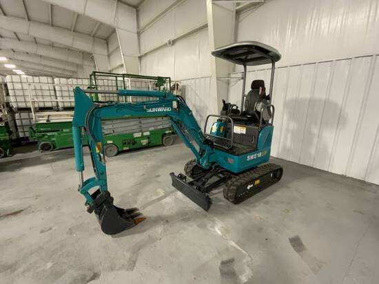 NEW 2020 SUNWARD SWE18UF MINI EXCAVATOR