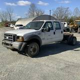2005 FORD F450 CAB & CHASSIS
