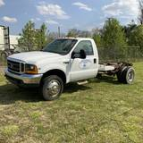 1999 FORD F450 CAB & CHASSIS