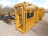 NEW SIOUX STEEL CO CATTLE SQUEEZE CHUTE