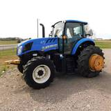 2016 NEW HOLLAND TS6.110 BOOM-MOWER TRACTOR