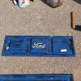 DECORATIVE METAL FORD TAILGATE
