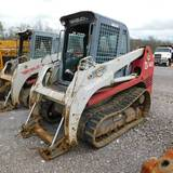 2008 TAKEUCHI TL140 COMPACT TRACK LOADER