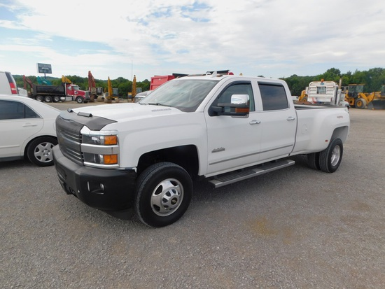 2015 CHEVY 3500 HIGH COUNTRY PICKUP TRUCK