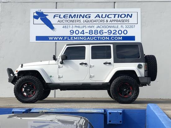 2010 JEEP WRANGLER UNLIMITED 4D SUV SPORT