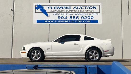2008 FORD MUSTANG V8 2D COUPE GT PREMIUM
