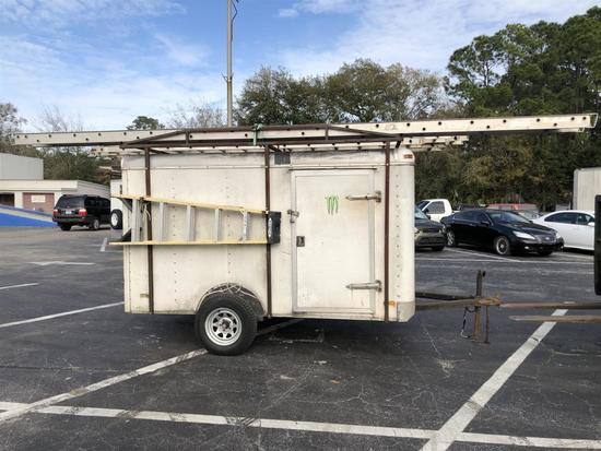 ENCLOSED TRAILER W/ TOOLS ROOFING/FRAMING