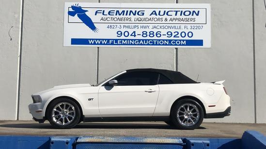 2010 FORD MUSTANG V8 2D CONVERTIBLE GT PREMIUM