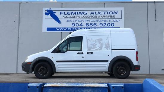 2012 FORD TRANSIT CONNECT 4D WAGON XL CNG