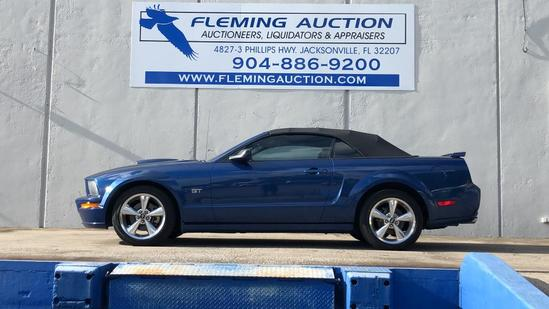 2008 FORD MUSTANG V8 2D CONVERTIBLE GT PREMIUM