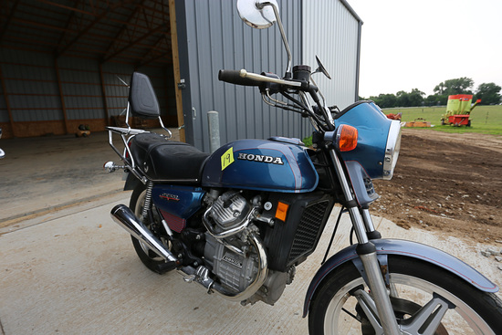 1978 Honda 500 CX Motorcycle