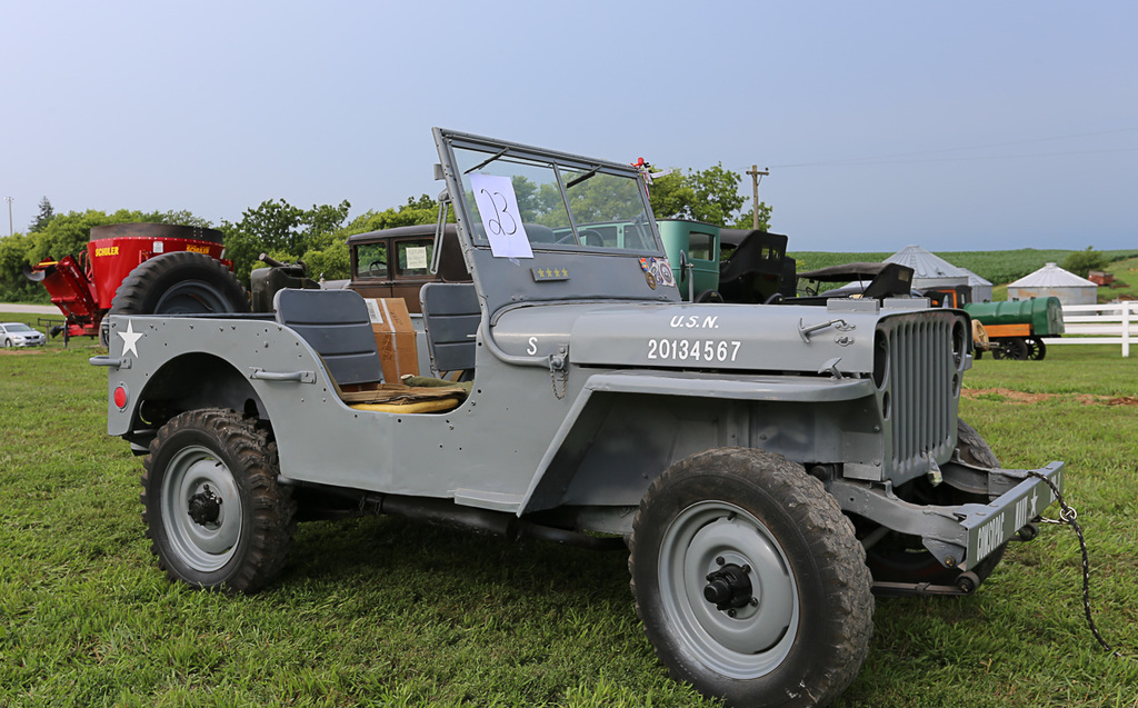 1942 Willy's MB Army Jeep