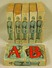 LOT OF 6 VINTAGE WOODEN ALPHABET BLOCKS - With Pol