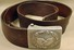 1939 WW2 GERMAN NAZI BELT BUCKLE W/ LEATHER BELT -