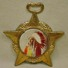 EARLY STAR BADGE W/ F. RINEHART NATIVE AMERICAN IN