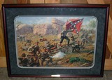 LARGE FRAMED LTD. ED. CIVIL WAR ART PRINT
