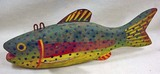 VINTAGE WOODEN FISH DECOY / LURE - Approx. 8