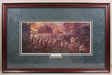 FRAMED CIVIL WAR ART PRINT