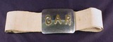 CIVIL WAR ERA G.A.R. BELT AND BUCKLE - Grand Army