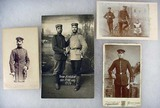 LOT OF 4 WW1 IMPERIAL GERMAN PHOTOS - Incl. Portra