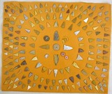 ARROWHEAD COLLECTION ATTACHED TO FELT BACKING