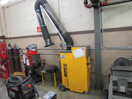 Vent Boss VB-1200-1 Fume Extractor, S/N: 24451, 1PH/110V