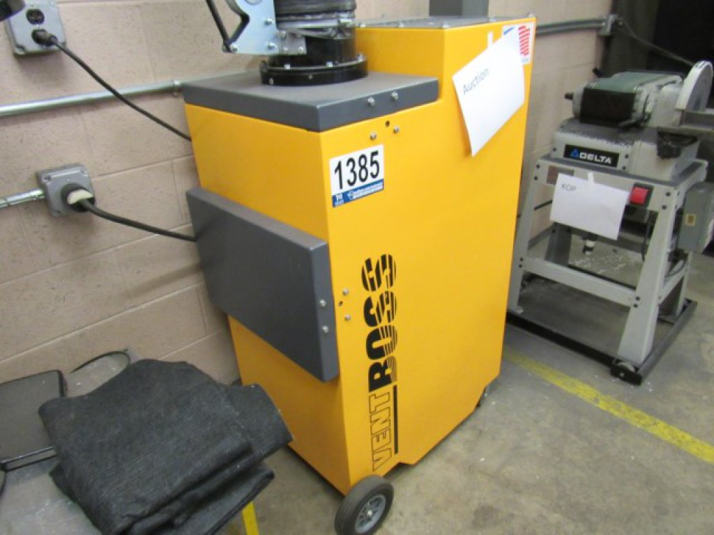 Lot: Vent Boss VB-1200-1 Fume Extractor, S/N: 24451, 1PH
