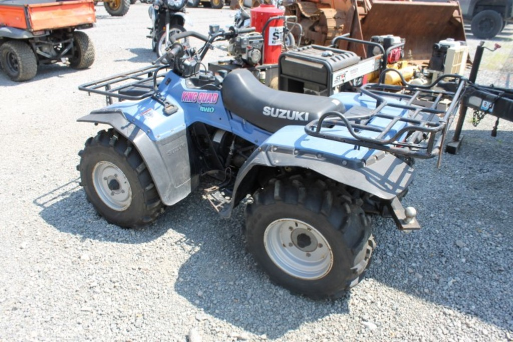Lot: 1994 Suzuki King Quad 4x4 ATV (VDOT Unit #N01192), (INOPERABLE