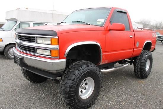 1996 Chevrolet Silverado 1500 4x4 Pickup Truck