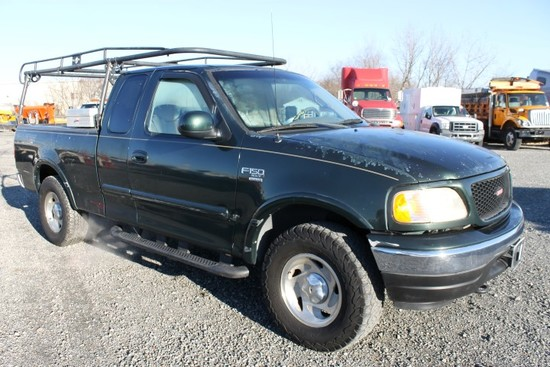 2001 Ford F150 XLT Extended Cab 4x4 Pick Up Truck