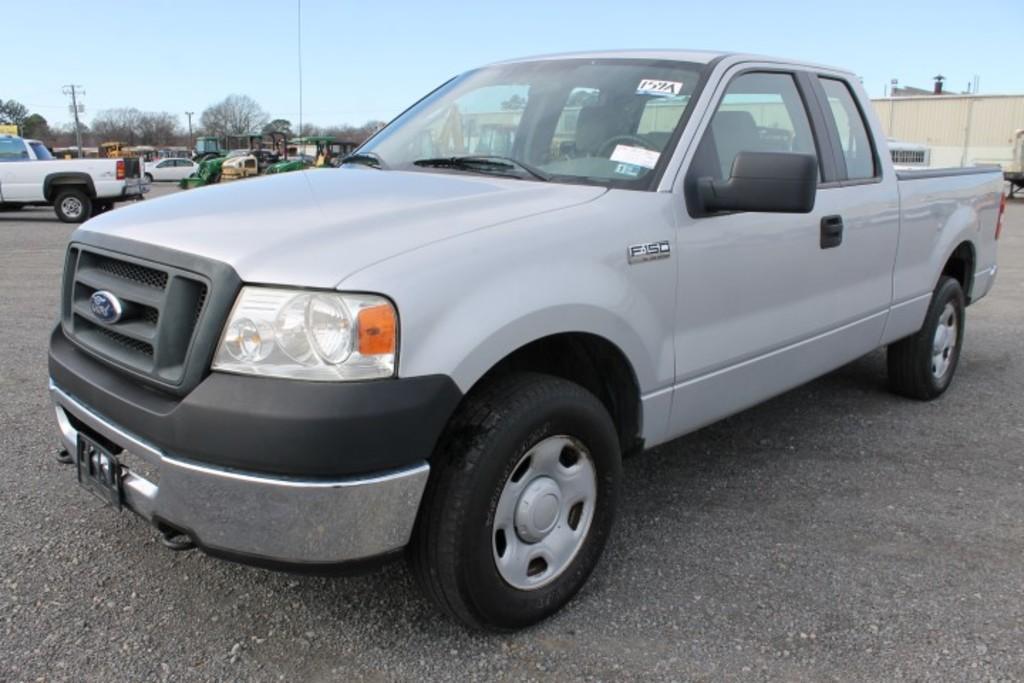 2008 Ford F150 XL 4x4 Ext. Cab Pickup Truck