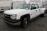 2006 Chevrolet Silverado 3500 Crew Cab Pick Up Truck(CITY OF RICHMOND UNIT #1008)