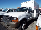 2000 Ford F550 XL Super Duty Utility Truck