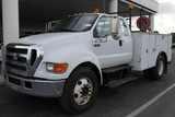 2007 Ford F650 XL Super Duty Ext. Cab Service Truck (Unit# 6233)