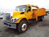 2010 International 7300 SBA S/A Mount Grapple Truck (City of Hampton) (INOPERABLE)