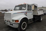 1991 International 4700 LP 8' S/A Dump Truck (CITY OF RICHMOND UNIT #1201)