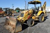 New Holland LB75B 4x4 Backhoe Loader