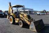New Holland LB75B 4x4 Backhoe Loader(Starts & Moves-Missing Front Drive Shaft)