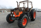Kubota M135GX 4x4 Tractor (INOPERABLE-FIRE DAMAGE)