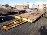 1994 Reid L25 T/A 22' Equipment Trailer (#330195)