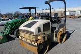 Ingersoll Rand DD-30 Dual 53' Smooth Drum Roller