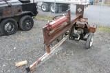 S/A-Mount Gas-Powered Hydraulic Log Splitter ENGINE NEEDS REPAIR)