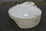 Snyder Industries 250 Gal. Round Poly Tank (MISSING CAP)