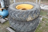 (3) Equipment Wheels w/Rims