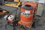 Alkota 4182 Heated Pressure Washer; Pressure Washer on Cart. (UNKNOWN OPERATING CONDITION)