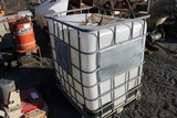 IBC Tank (MISSING TOP & BOTTOM CAP)