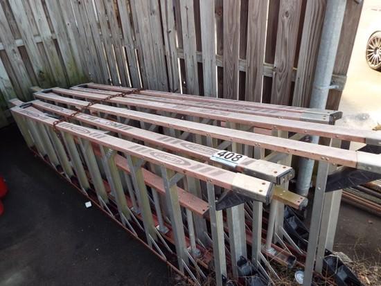 Fiberglass A-Frame Ladders